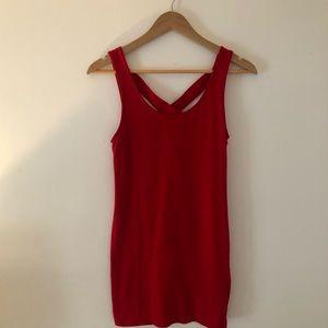 GORGEOUS RED BODYCON DRESS